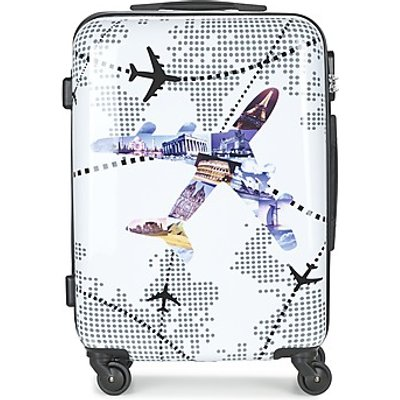 David Jones  OUSKILE 50L  women s Hard Suitcase in Multicolour - 3563772049228