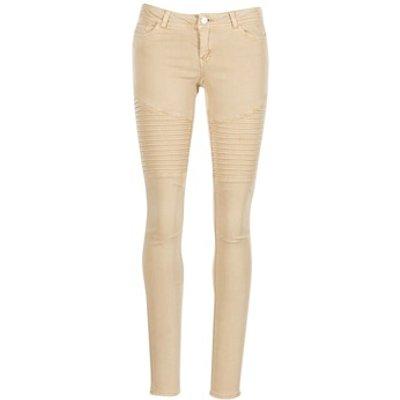Noisy May  EVE  women's Trousers in Beige