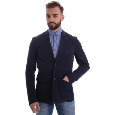 Gaudì Jeans  62BU35030 Blazer Man Blue  men's Tracksuit jacket in Blue