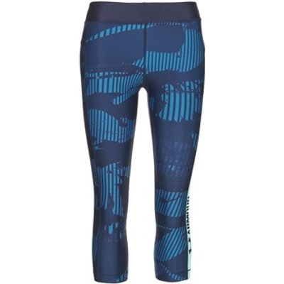 Under Armour  UA HG ARMOUR GRAPHIC CAPRI  women's Tights in Blue