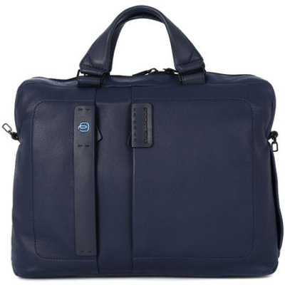 Piquadro  CARTELLA 2 MANICI  men's Computer Bag in Blue