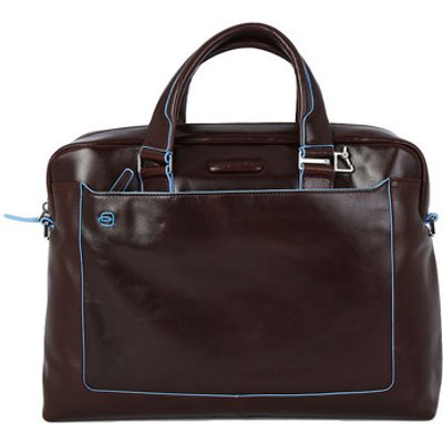 Piquadro  TRACOLLA PELLE MORO  men's Computer Bag in Multicolour