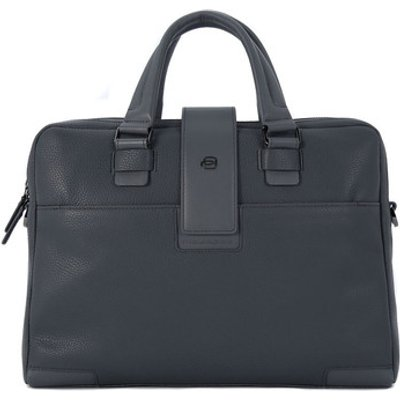 Piquadro  CARTELLA DUE MANICI  men's Computer Bag in Grey