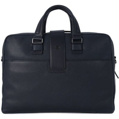 Piquadro  CARTELLA PORTA PC 2 MANICI  men's Computer Bag in Blue