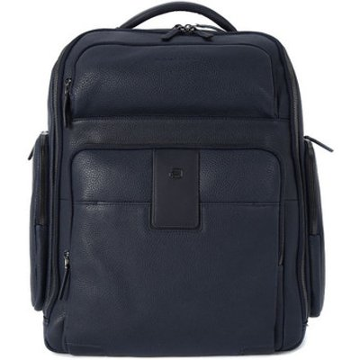 Piquadro  ZAINO PORTA PC E IPAD  men's Computer Bag in Blue