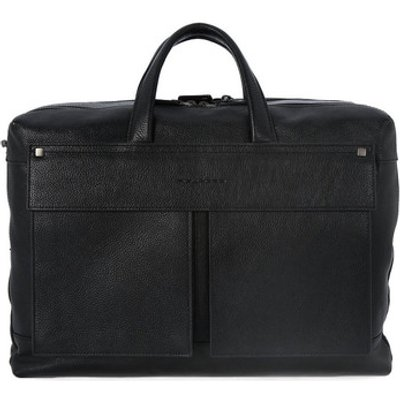 Piquadro  BORSA PORTA PC DUE MANICI  men's Computer Bag in Black