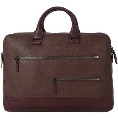 Piquadro  CARTELLA PORTA PC  men's Computer Bag in Brown