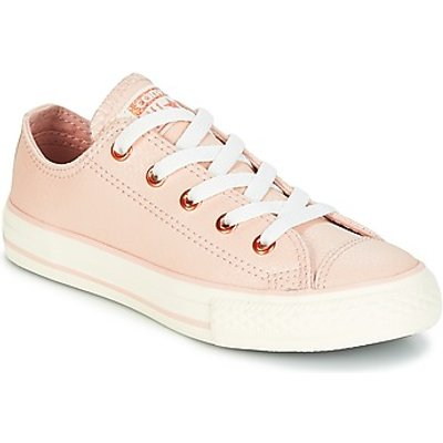 Converse  Chuck Taylor All Star Ox Fashion Leather  girls s Children s Shoes  Trainers  in Orange - 888755251379