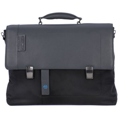 Piquadro  CARTELLA PORTA PC  men's Computer Bag in Black
