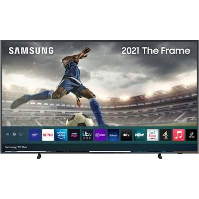 "Samsung QE75LS03AAUXXU 75"" The Frame Art Mode QLED 4K HDR Smart TV (2021)"