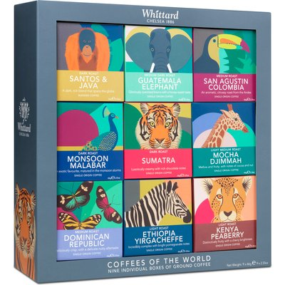 Coffees of the World Gift Set