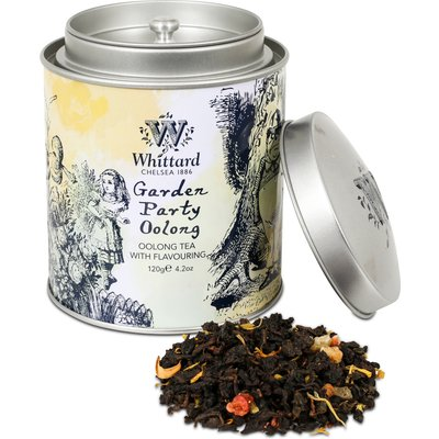 Garden Party Oolong Alice Tea Caddy