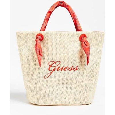 Guess Logo Beach Bag