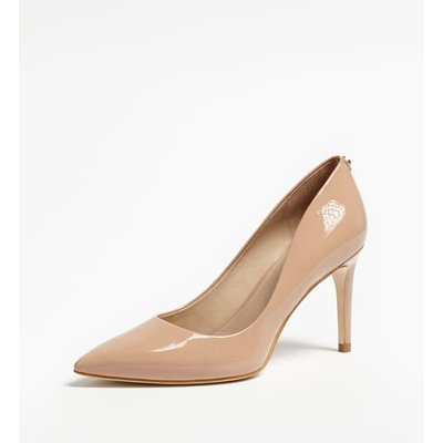 Guess Bennie Real Leather Court Shoes - 7613414648039