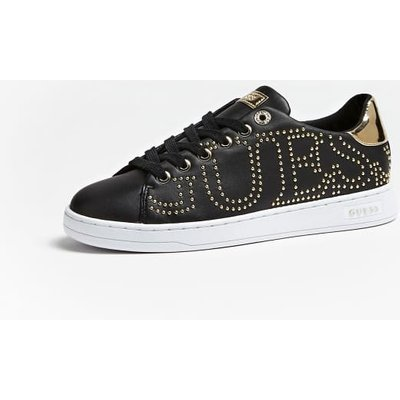 Guess Studded Cater Sneakers With Logo - 7613414648848