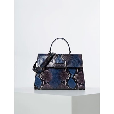 Guess Belle Luxe Genuine Leather Handbag