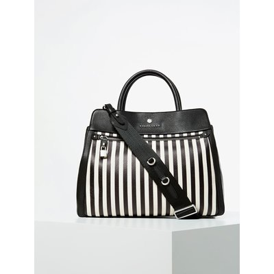 Guess Eve Genuine Leather Luxe Handbag
