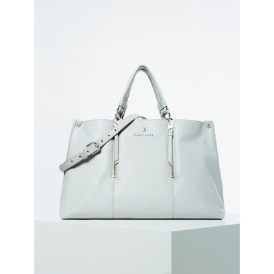 Guess Lapis Genuine Leather Luxe Handbag