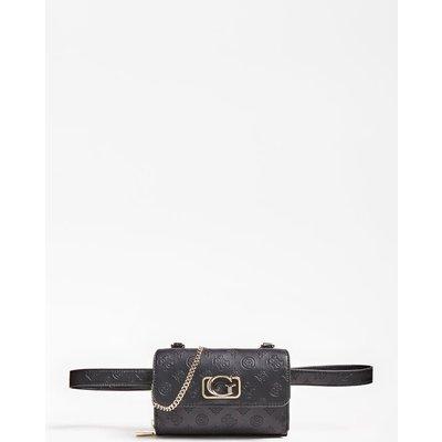 Guess Emilia Embossed Logo Belt Bag - 190231392408