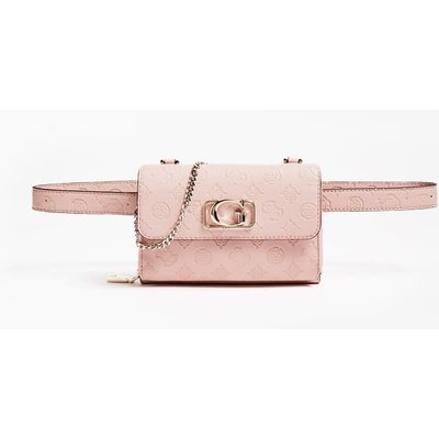 Guess Emilia Embossed Logo Belt Bag - 190231392439