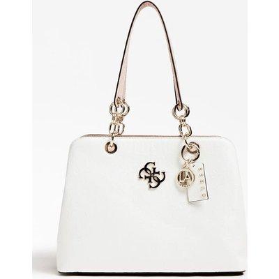 Guess Chic Shine 4G Logo Shoulder Bag - 190231373407