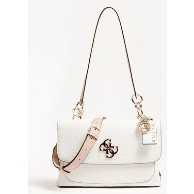 Guess Chic Shine 4G Logo Shoulder Bag - 190231373445