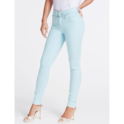Guess Belted Skinny Fit Denim Pant