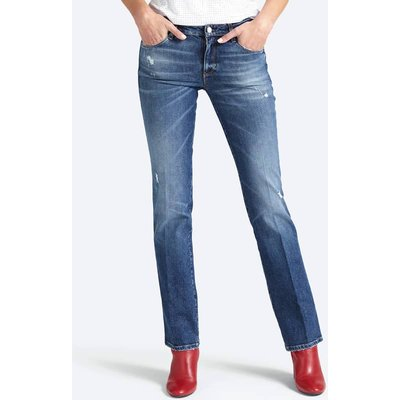 Guess Used-Look Abrasion Detail Jeans