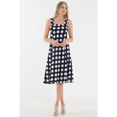 Julianna Spot Print Sun Dress