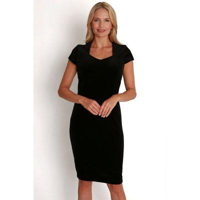 Julianna Velvet Shift Dress
