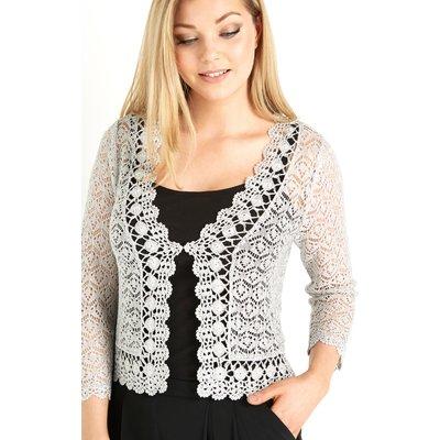 Crochet 3/4 Length Sleeve Shrug