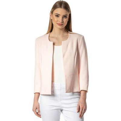 Textured Cropped Jacket