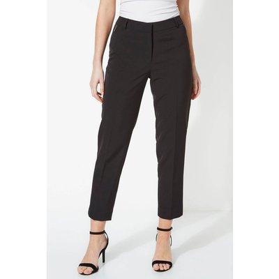 Straight Leg Zip Pocket Trousers