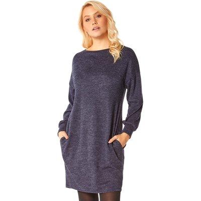Cocoon Jersey Pocket Dress