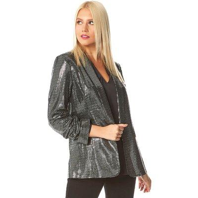 Sparkle Embellished Blazer Jacket