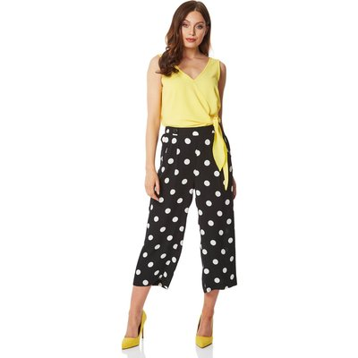 Polka Dot Culotte Trousers