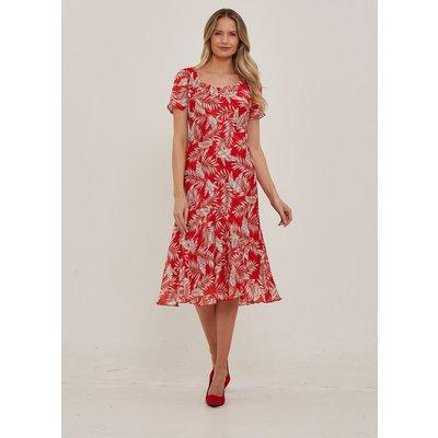Julianna Floral Print Chiffon Dress