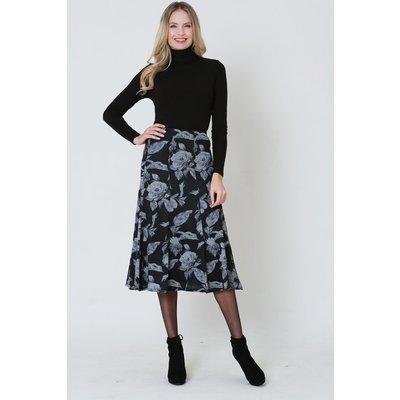 Julianna Floral Printed Midi Skirt