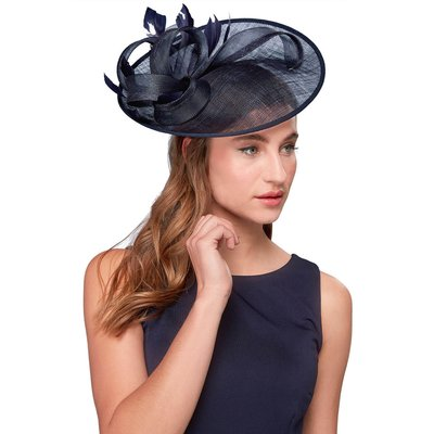 Twist Detail Mesh Disc Fascinator