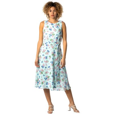 Floral Fit & Flare Midi Dress