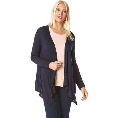 Waterfall Front Jersey Cardigan