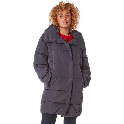 Duvet Wrap Longline Padded Coat