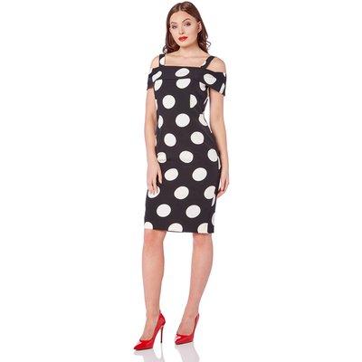 Polka Dot Bardot Dress