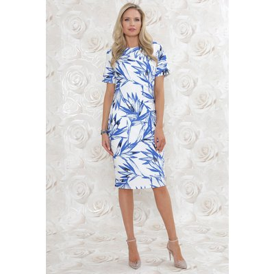 Julianna Abstract Shift Dress
