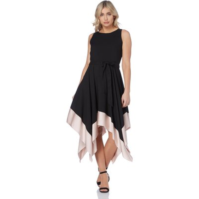 Hanky Hem Fit and Flare Dress