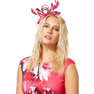 Satin Ribbon and Mesh Band Fascinator