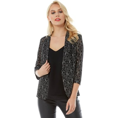 Two Tone Lace Jacket