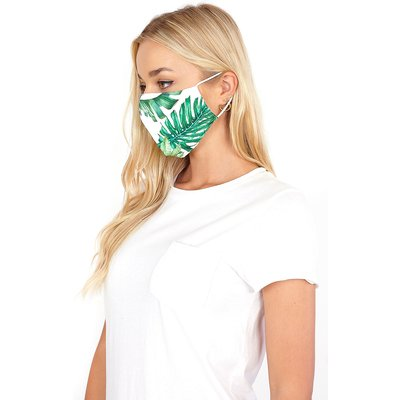 Tropical Print Fast Drying Fashion Face Mask