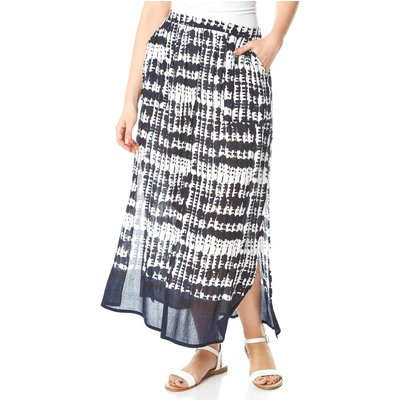Tie Dye Gypsy Midi Skirt