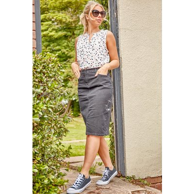 Sparkle Hotfix Skirt